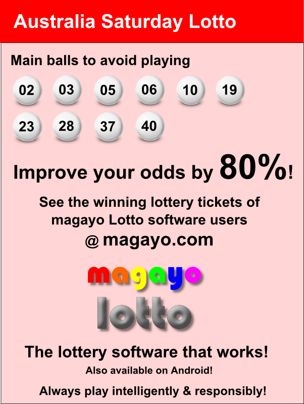 Powerball australia lottery results & game details