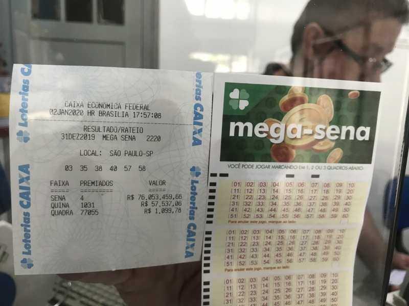 Lotteria brasiliana mega sena (6 di 60)