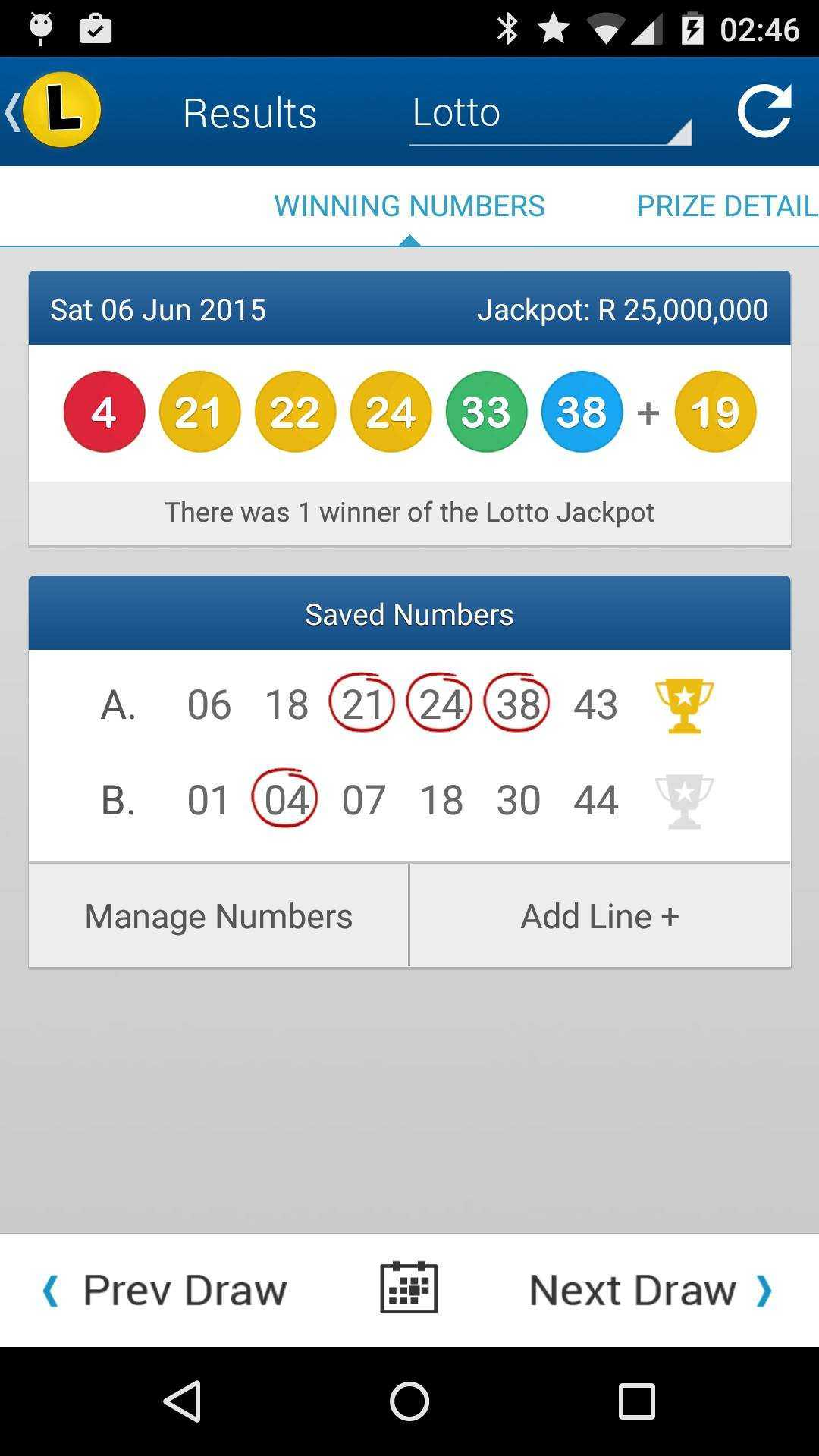 South africa lotto | check results, jackpot, stats & odds